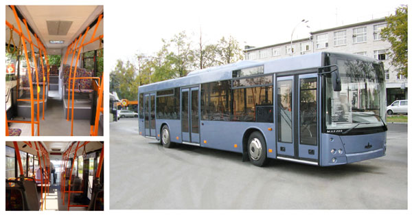 Автобус МАЗ 203 на фестивале Мир автобусов
