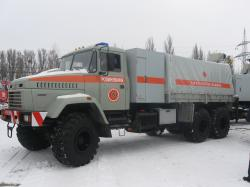 «АвтоКрАЗ» поставил спецавтомобили в адрес МЧС Украины