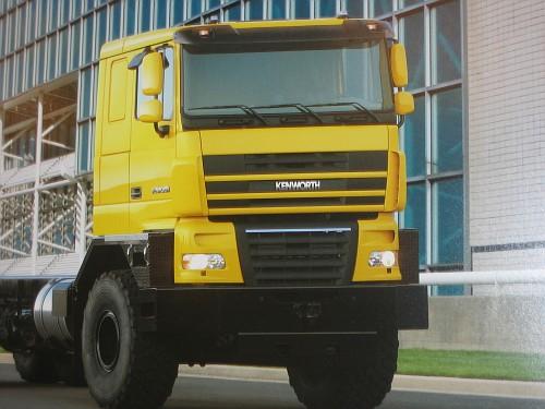 Компания Kenworth разработала грузовики K500 с кабинами DAF