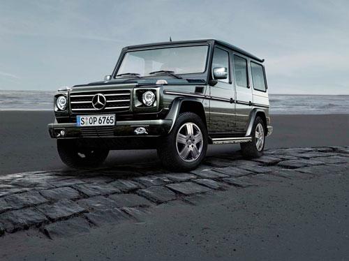 Mercedes-Benz отмечает юбилей легендарного автомобиля: юбилейная версия «G500 Edition 30»