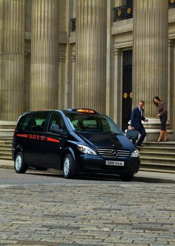 Mercedes-Benz Vito будет работать такси в Лондоне