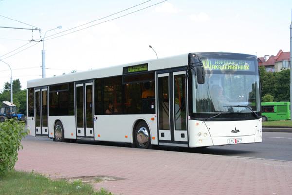 В Сербии состоялася презентация автобуса МАЗ с газовым двигателем