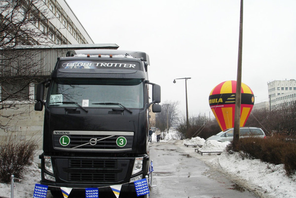 Компания Volvo Trucks приняла участие в выставке «АСМАП Нева Трак─2009»