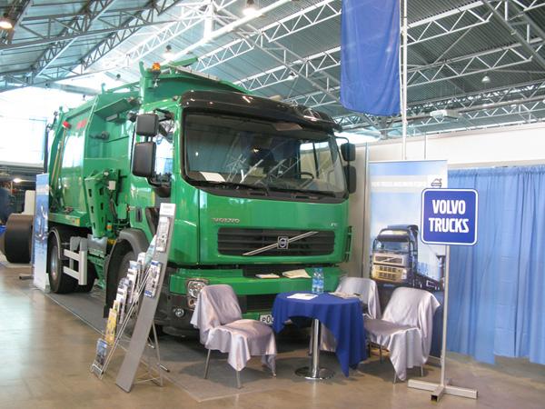 Компания Volvo Trucks стала участником выставки Управление отходами: технологии и оборудование в рамках Международного экологического форума в Санкт-Петербурге