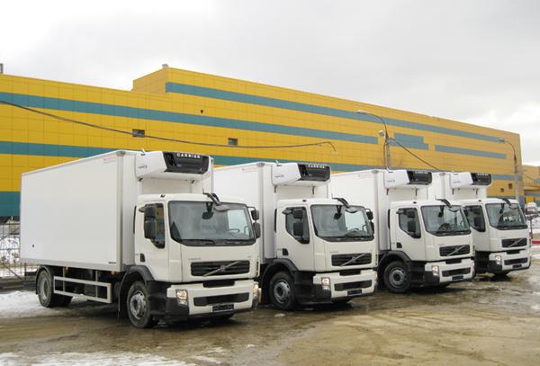 Четыре новых Volvo FE 4x2 для ОАО «Волжанин»