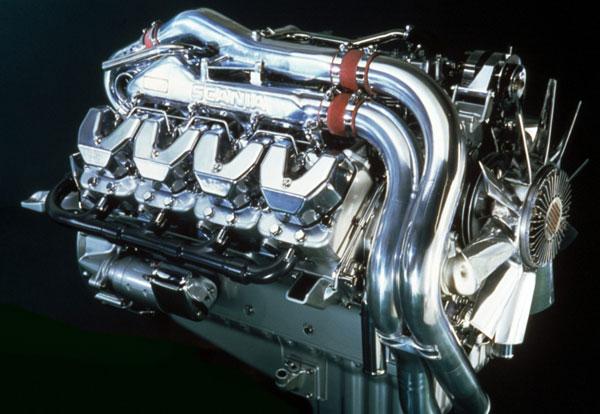 Scania: обзор легендарных V8