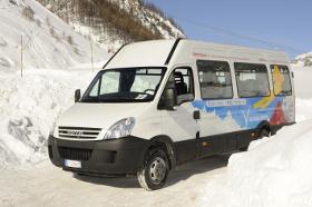 Iveco Irisbus обеспечивает транспортом чемпионат мира по горнолыжному спорту в Валь д'Изере
