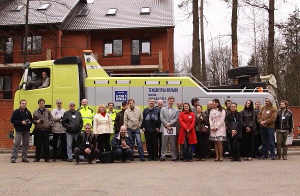 Первый Пресс-клуб Volvo Trucks прошел успешно