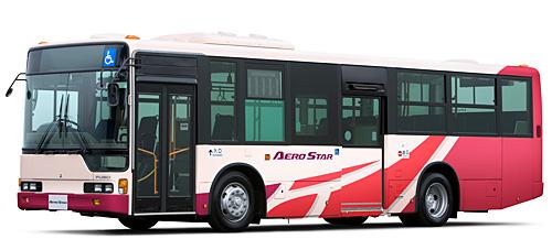 Новый автобус от Mitsubishi Fuso - Aero Star с низким полом