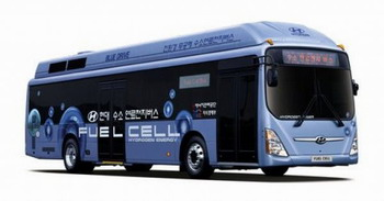 Новое поколение водородных автобусов от Hyundai