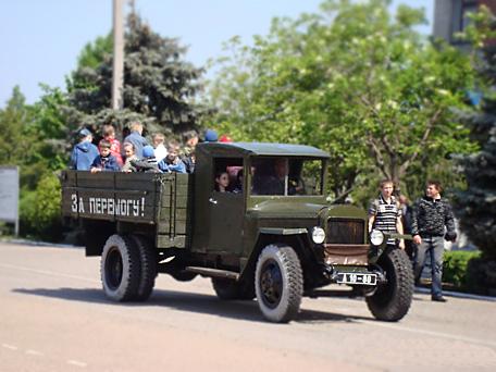 Автомобили «УРАЛ» приняли участие в парадах Победы по всей стране