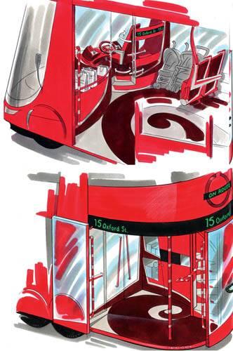 Грузовой автобус: В два этажа