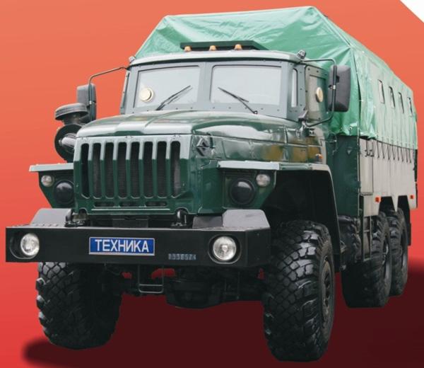 Новый бронированный «УРАЛ» передан МВД России