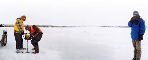 Жизнь на канадском зимнике