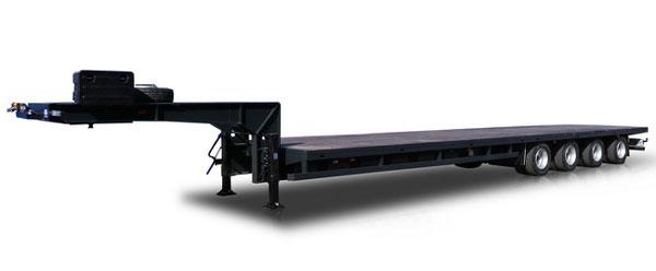 Новый полуприцеп для перевозки тяжеловесных и крупногабаритных грузов!