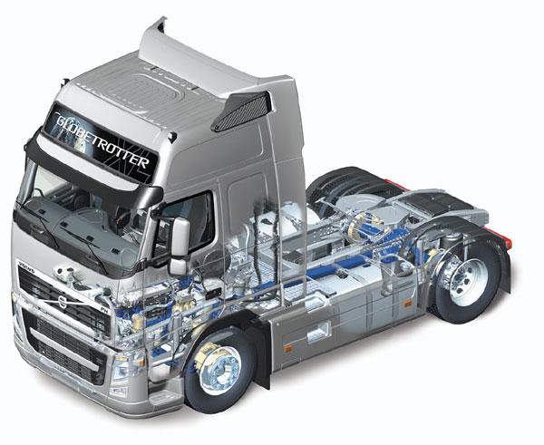 Volvo: Тяжелые грузовики будущего станут более легкими