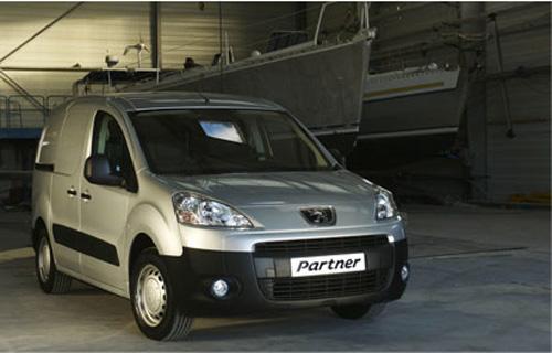 Новый грузовой Peugeot Partner Tepee