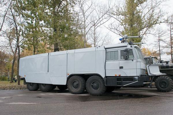 Автомобили «УРАЛ» примут участие в масштабных антитеррористических учениях