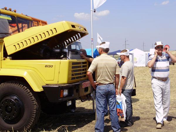 КрАЗы для аграрного комплекса Украины