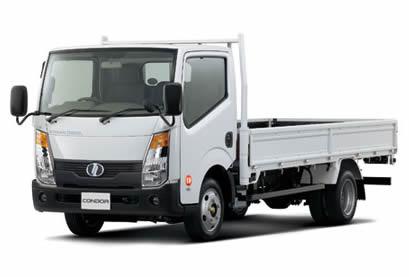 Nissan Diesel начала продажу обновленного грузовика Condor