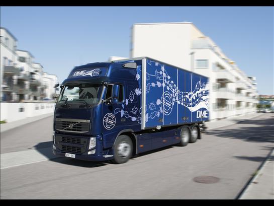 Грузовые автомобили Volvo на биотопливе DME приступают к уникальным полевым испытаниям