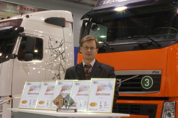 Седельные тягачи и автобусы Volvo завоевали 5 наград ежегодного конкурса «PROдвижение»