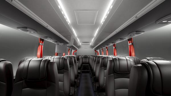 Scania представляет мировую премьеру – новый туристический автобус