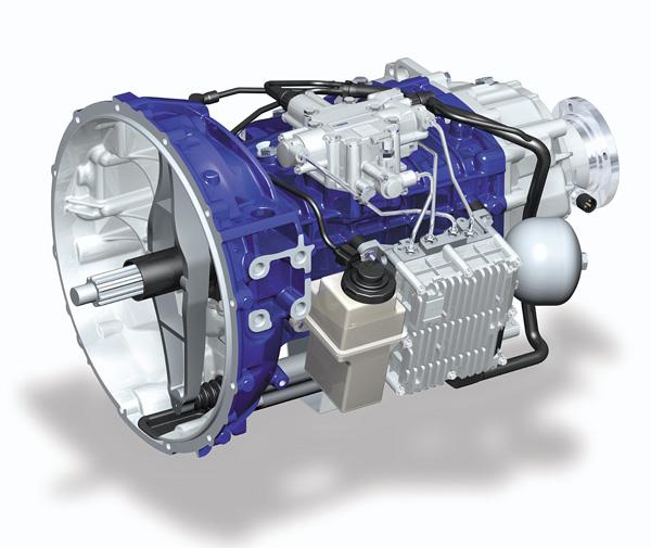 Грузовой автомобиль Volvo FE оснащается автоматизированной трансмиссией I-Sync