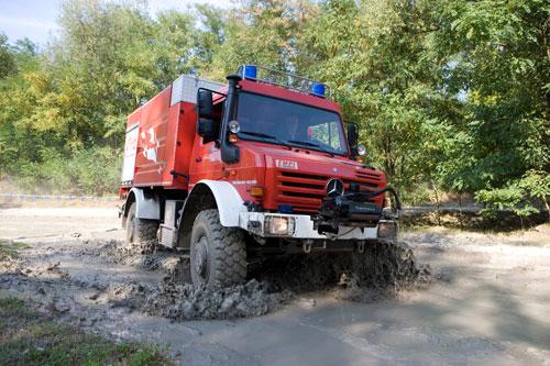Mercedes-Benz представил спецтехнику для пожарных и спасательных служб на выставке Mercedes-Benz Fire&Rescue