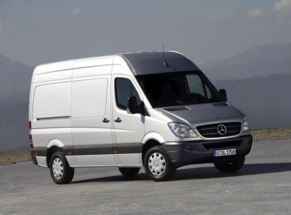 ������� �� ������� (� 250 �����): ��������������� ��� Mercedes-Benz Sprinter