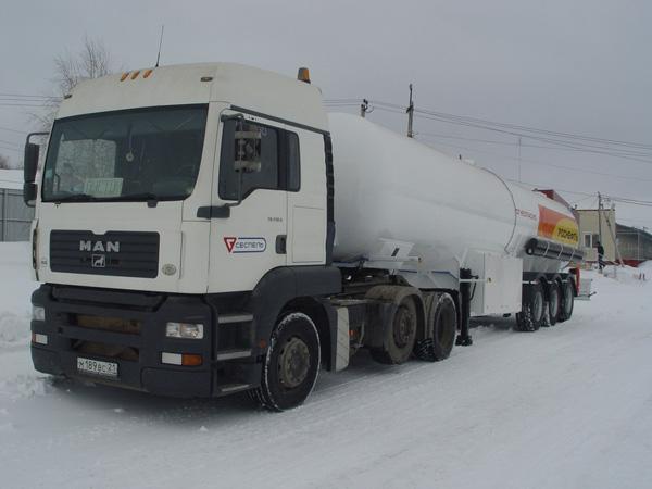Новинки от Сеспель – газовоз и газозаправщик.