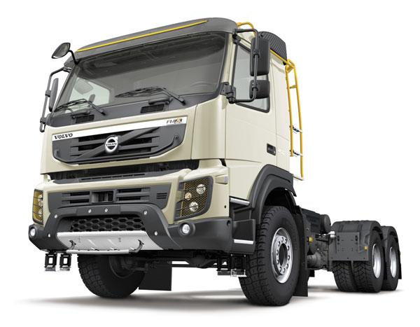Компания Volvo Trucks представляет новый грузовой автомобиль Volvo FMX для строительного сегмента