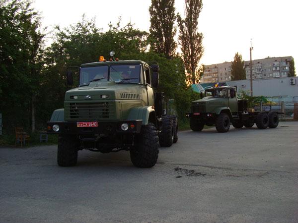 Автомобили КрАЗ-6322 с правым рулем переданы заказчику