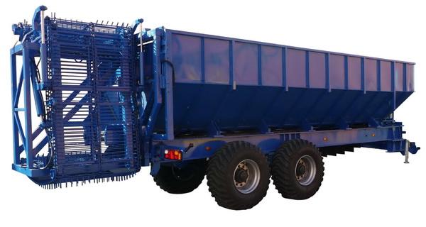 Тракторный прицеп-перегрузчик для корнеплодов ТОНАР ПТ-4