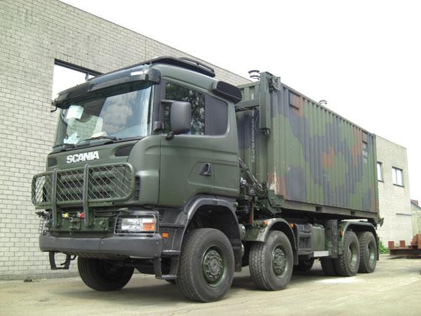 Scania поставит Люксембургу и Швеции 119 комплектных автомобилей оборонного назначения