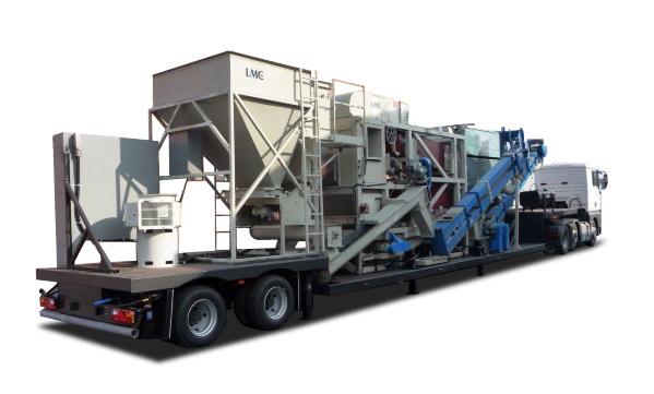 Полуприцеп «ТОНАР» для перевозки зерноочистительного комплекса