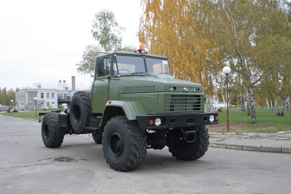 Автомобиль КрАЗ-5233НЕ с правым рулем
