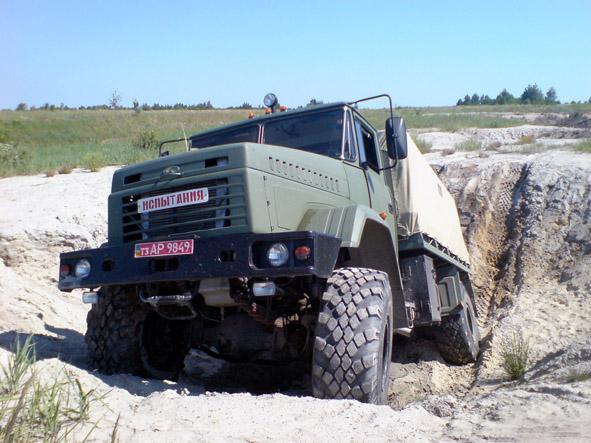 КрАЗ-5233 «Спецназ» рекомендован для  постановки на вооружение  ВС Украины