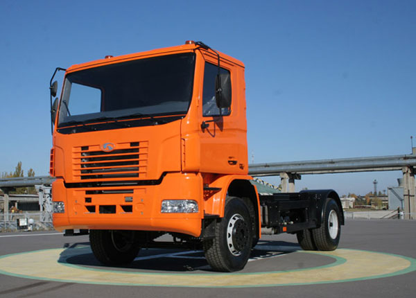 КрАЗ Н12.0 – автомобиль-шасси нового перспективного поколения автомобилей КрАЗ