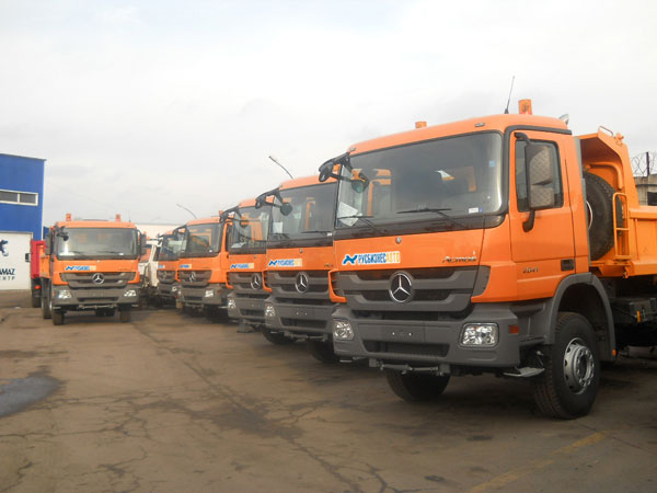 Русбизнесавто – официальный дилер «Мерседес-Бенц Тракс Восток» по продаже и обслуживанию грузовой техники  Mercedes-Benz