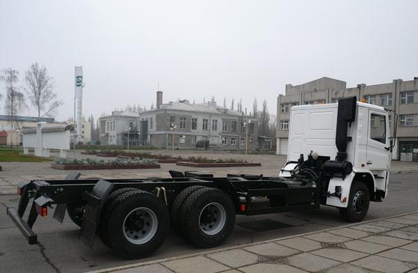 Шасси КрАЗ Н23.0  - третий автомобиль в новом перспективном поколении кременчугских грузовиков