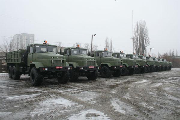 Холдинговая Компания «АвтоКрАЗ» поставила МО Украины очередную партию автомобилей