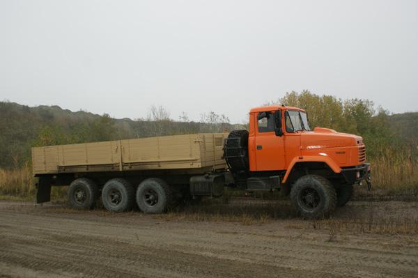 Шасси КрАЗ Н30.0 Е открыта дорога в Российскую Федерацию