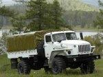 Комиссия Министерства обороны приняла два новых грузовика «Урал»