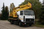 МАЗ запустил в серию автоподъемники АГП-20-2 грузоподъемностью 250 кг