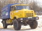 Герои дня: автомобиль КрАЗ-5233ВЕ и шоу-грузовик «Krazy» «зажигали» в Киеве
