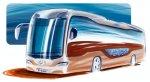 Mercedes представит в июне новый гибридный автобус