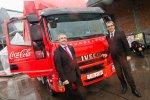 Iveco и Coca-Cola Enterprises вводят в эксплуатацию новый Eurocargo с гибри ...