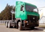 МАЗ-МАН 642368: новая модификация тягача тяжеловоза