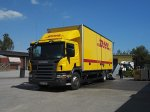 Scania стала главным поставщиком для компании DHL в Европе